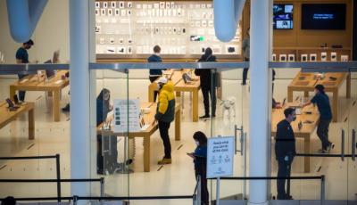 苹果公司本财年第二季度营收创新高
