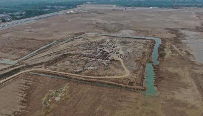 山东菏泽发现连片古墓增至198座,发掘出大量平民用陶器碎片