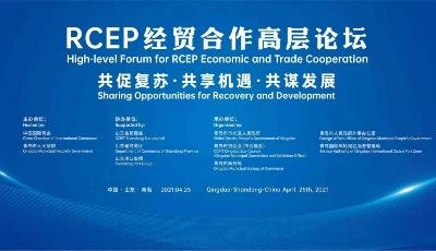 首頁直播|RCEP經貿合作高層論壇