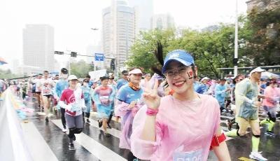 青島馬拉松開跑