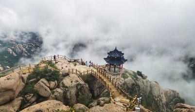嶗山巨峰云海觀賞季來了!
