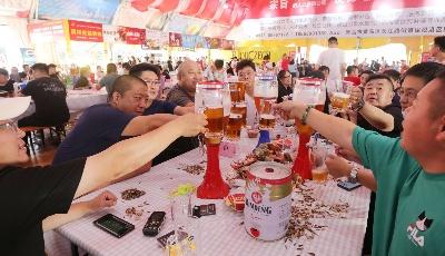 干杯!干杯!干杯!青島與世界一同干杯!