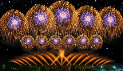 2021年青島國慶迎來第二屆世界煙花匯演
