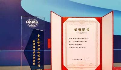 """在实践中打磨数据""""治""""道!青岛银行荣获DAMA中国数据治理最佳实践奖"""