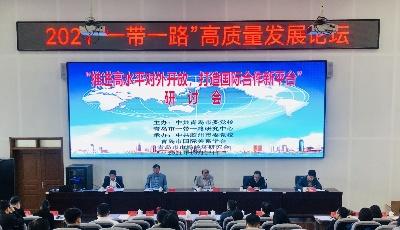 """""""推进高水平对外开放打造国际合作新平台""""研讨会在胶州市委党校召开"""